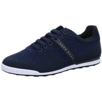 Hugo Boss Sportlicher Schnürschuh blau