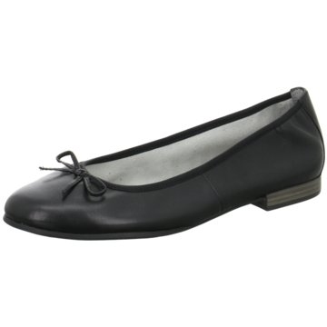 Tamaris Faltbarer Ballerina schwarz