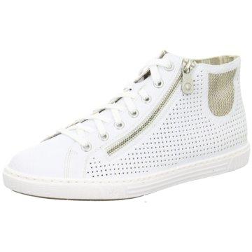 Rieker Sneaker High weiß