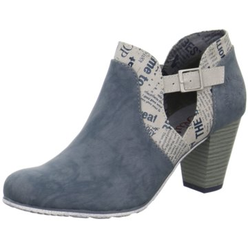 s.Oliver Ankle Boot blau