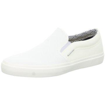 Jack & Jones Sportlicher Slipper weiß