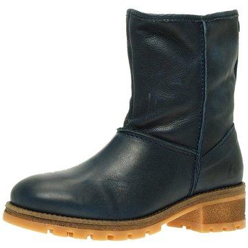 Online Shoes Winterboot blau