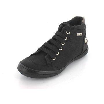 Däumling Sneaker High schwarz