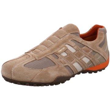 Geox Sportlicher Slipper beige