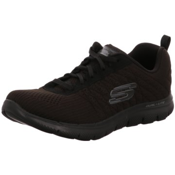 Skechers Flex Appeal 2.0 - Break Free,Schwar