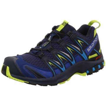Salomon Trailrunning blau