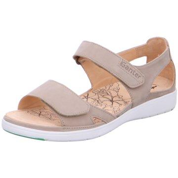Ganter Komfort Sandale grau