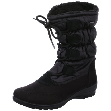 ara Komfort Stiefel schwarz