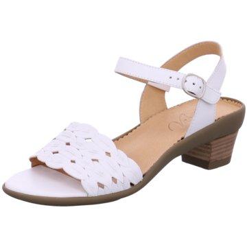 Vabeene Komfort Sandale weiß