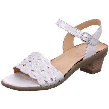 Vabeene Komfort Sandale silber