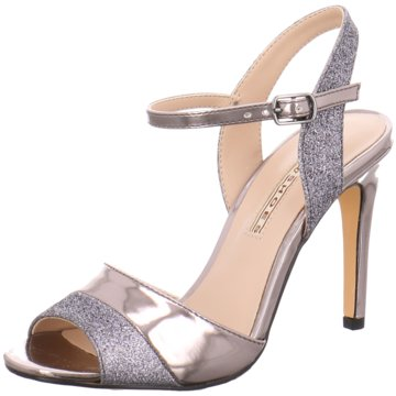 Buffalo Modische High Heels silber