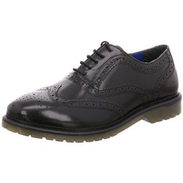 Redtape Global Shoes Eleganter Schnürschuh schwarz