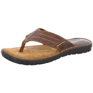 Redtape Global Shoes Zehentrenner braun