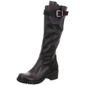 Erman's Overknee Stiefel schwarz
