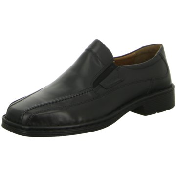 Josef Seibel Business Slipper schwarz