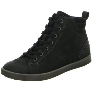 Ecco Sneaker High schwarz