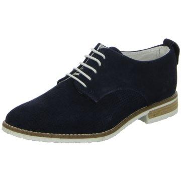 BOXX Eleganter Schnürschuh blau