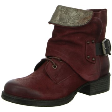 Red BOXX Biker Boot rot