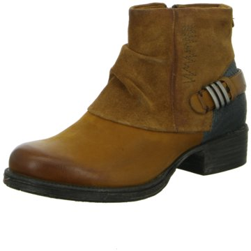 Red BOXX Biker Boot braun