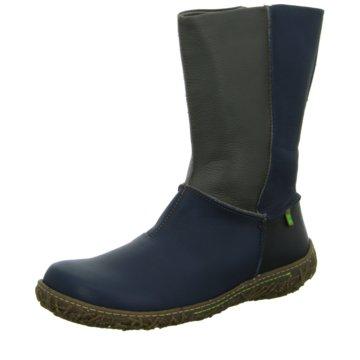 El Naturalista Komfort Stiefel blau