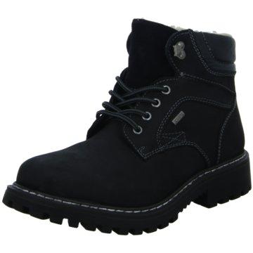 Scarbello Komfort Stiefel schwarz