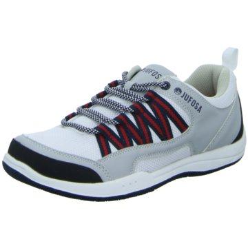 Jufosa Sneaker Low weiß