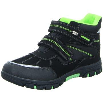 Sneakers Klettstiefel schwarz