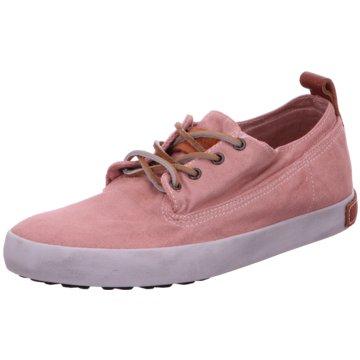 Blackstone Sneaker Low rosa