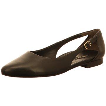 Paul Green Riemchen Ballerina schwarz