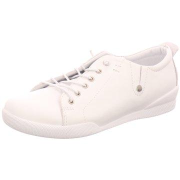 Gabor Eleganter Schnürschuh weiß