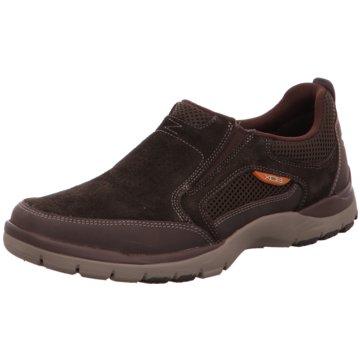 Rockport Komfort Slipper braun