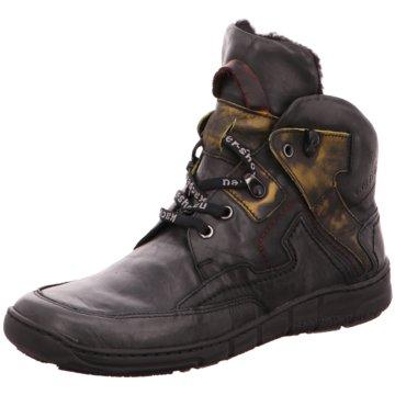 Kacper Komfort Stiefel schwarz