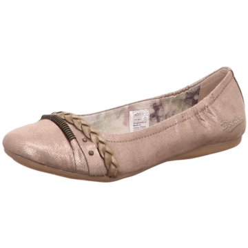 Dockers by Gerli Klassischer Ballerina gold