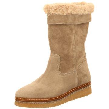 Alpe Woman Shoes Winterstiefel beige