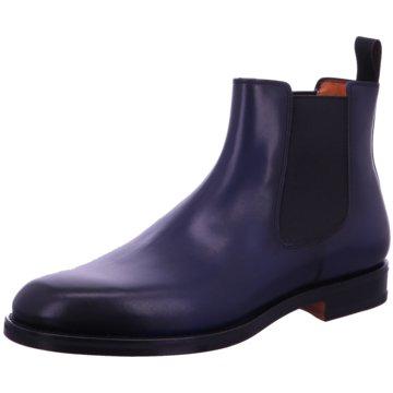 Santoni Chelsea Boot blau