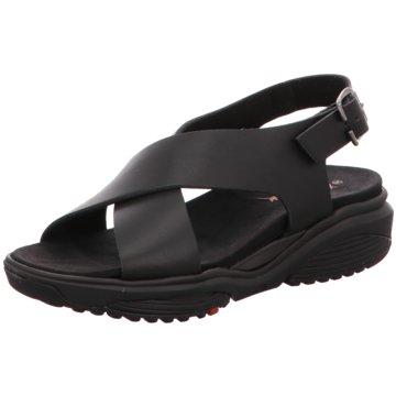 The Sensible Shoes Komfort Sandale schwarz