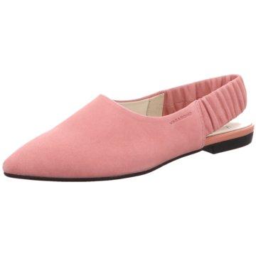 Vagabond Modische Ballerinas rosa