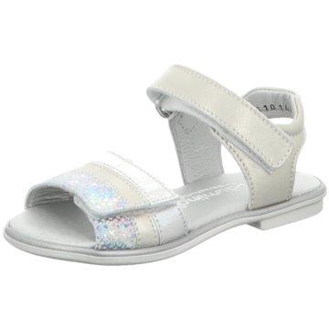 Däumling Offene Schuhe silber
