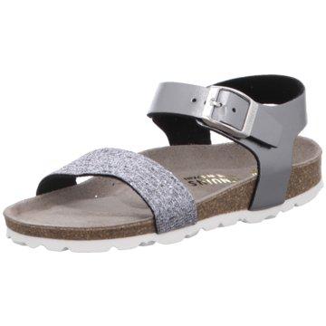 Genuins Sandale silber