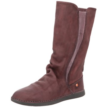 Softinos Komfort Stiefel rot