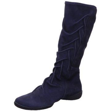 Trippen Komfort Stiefel blau