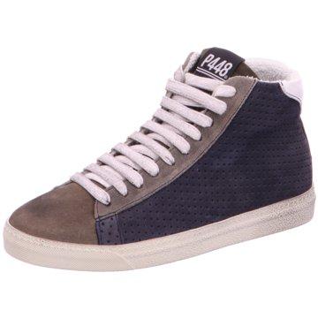 P448 Sneaker High blau