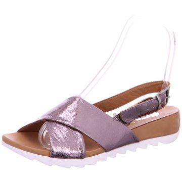 MACA Modische Sandaletten silber