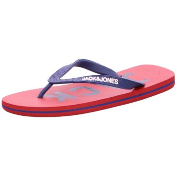 Jack & Jones Zehentrenner rot