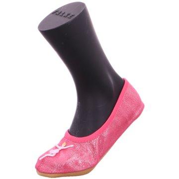 Beck Gymnastikschuh pink