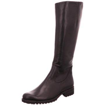 Semler Klassischer Stiefel schwarz