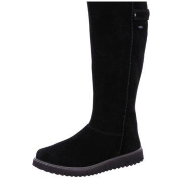 Damen Stiefel, Weite F, schwarz, 40