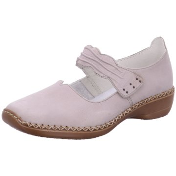 Rieker Komfort Slipper rosa