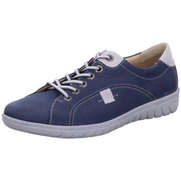Hartjes Komfort Schnürschuh blau