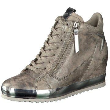 Gabor Sneaker Wedges silber